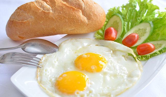 Cách làm bánh mì kẹp trứng cực ngon