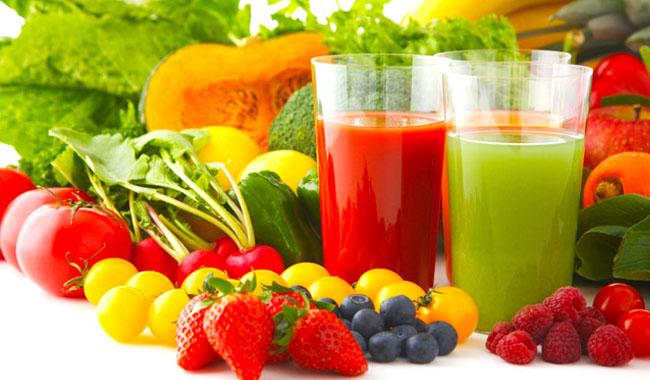 Bí quyết giải rượu cực hay từ nước ép rau củ quả