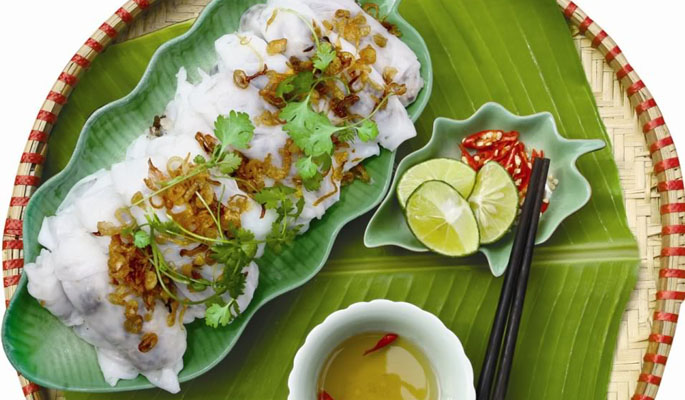 Đậm đà hương vị bánh cuốn Thanh Hương