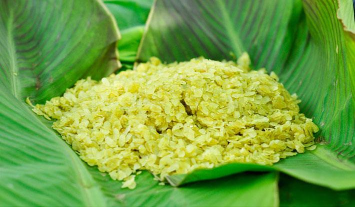 Cốm Thanh Hương – Món quà của lúa non