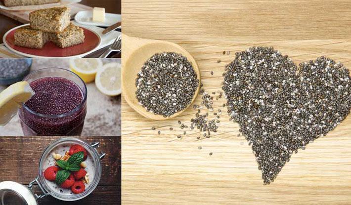 Sử dụng hạt Chia(Chia Seed) như thế nào cho đúng?