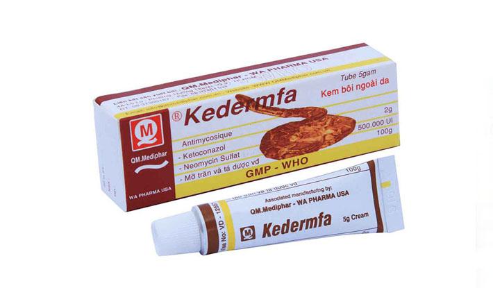Kedermfa thuốc bôi đặc trị hắc lào, lang ben hiệu quả